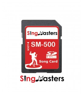 Portuguese Karaoke SD Card Chip