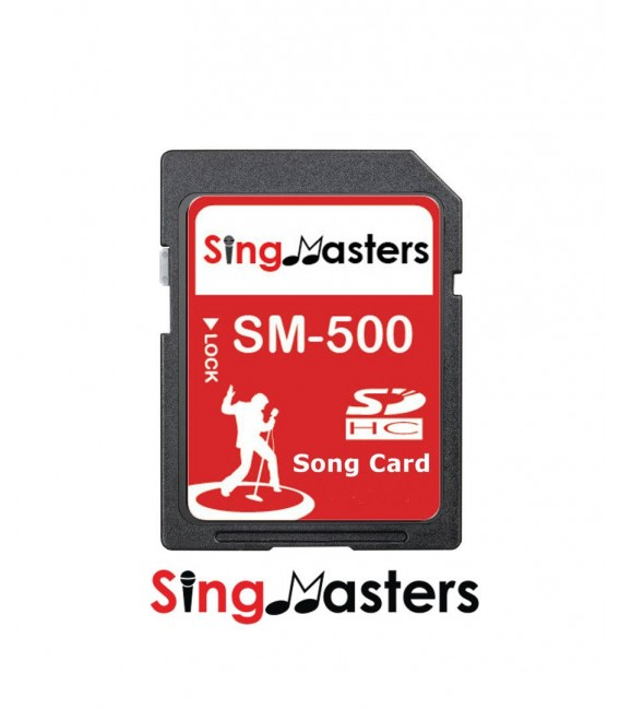 English Karaoke SD Card