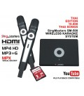 Thai Edition-SM500 SingMasters Dual Wireless Microphones Karaoke Machine System,10,000 Thai Karaoke Songs