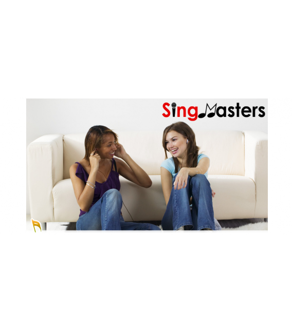 Thai Edition-SM500 SingMasters Karaoke System Dual Wireless Microphones