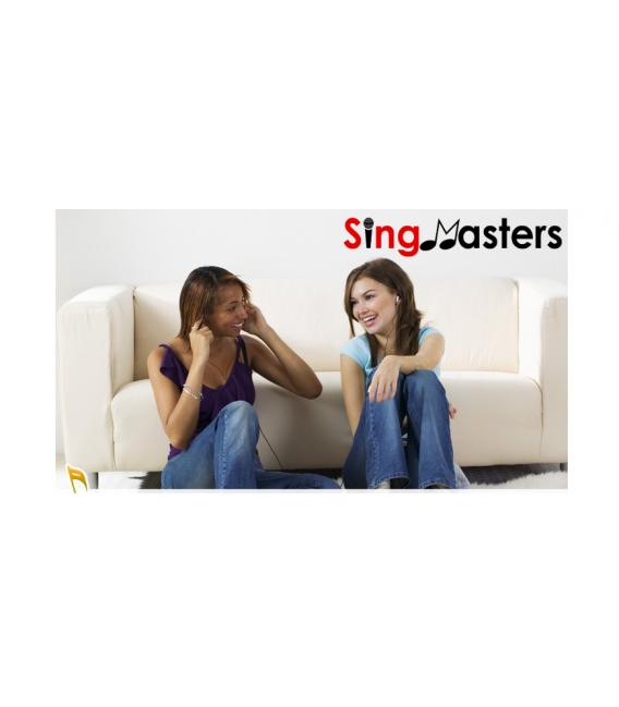 English Edition-SM500 SingMasters Karaoke System Dual Wireless Microphones