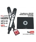 Konkani Edition-SM500 SingMasters Dual Wireless Microphones Karaoke Machine System,43 Konkani & 5300 Indian Karaoke songs