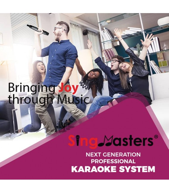 English Edition-SM800 Pro Wi-Fi SingMasters Karaoke
