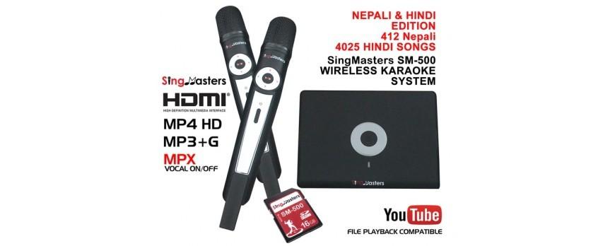 Launch of NEPALI/HINDI EDITION-SM500 SINGMASTERS