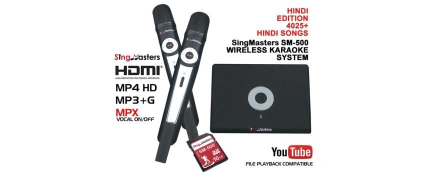 LAUNCH OF HINDI EDITION-SM500 SINGMASTERS